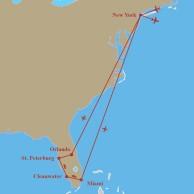 Zemljevid destinacije